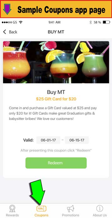 Miles City Plus App - Coupons