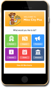 Miles City Rewards App - Putting Miles City at your fingertips!